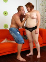 Foreplay with a fresh hot teen with lots of flab
