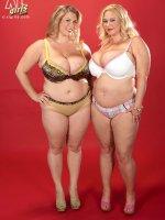 Double Dynamite – Samantha,  Renee Ross – BBW,  Lesbian