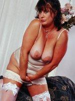 Big tits on a sexy bbw hottie