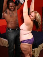 Hot plumper pussy fucked by a black hunk