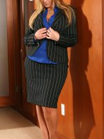 BBW hottie Sara Jay is now your sexy secretary