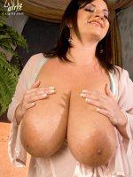 Cumming Clean - Maria Moore - Big Tits,  BBW,  Natural Boobs