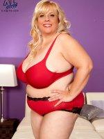 Blanca In Red - Cassie Blanca - BBW