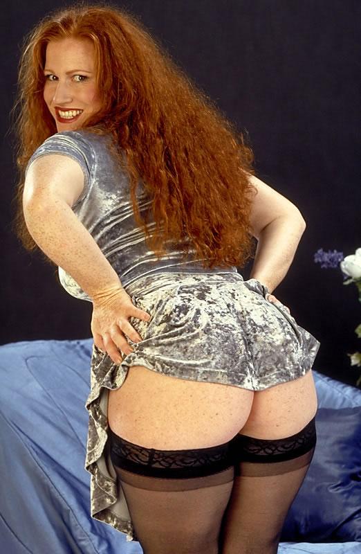 Hot ass redhead bbw wet ass pussy!