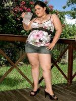 Naked And Wet - Karla Lane - BBW,  Natural Boobs