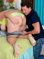 Young Bra-busters Secret Sex Fantasy Cums True - Bri Love - Natural Boobs
