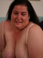 Lustful mature bbw Sassy spreading her fat thighs wide to take cock pummeling in her hole