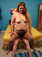 BBW Sunkist performs excellent oral and goes down on all fours to get humped doggy style