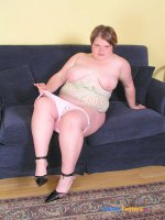 Young plump candy with stunning big ass gets naked