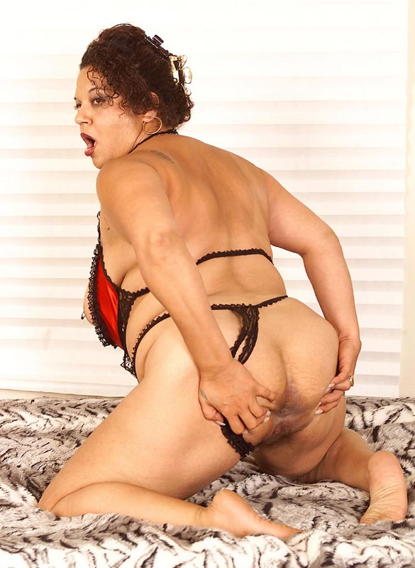 panties ass Mature in big bbw