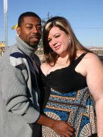 Gorgeous plumper Deserie shows off her excellent cock pleasing skills to satisfy a black guy