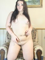 Horny fat college girl riding pink rubber sex toy