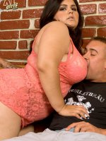 Big Butt,  Big Belly,  Big Tits - Karla Lane - BBW,  Blowjob,  Cumshot