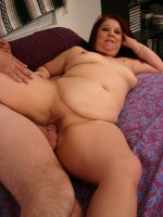 Fleshy hot babe stuffing her sex holes with cock