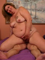 Watch fat and horny momma CC strips naked and seduces a stud with her fleshy and juicy pussy