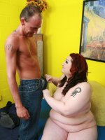 BBW hottie getting hercunt jousted with meat stick