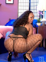 When I Go Out,  I Try To Look Like A Teenager - Skyy Black - BBW
