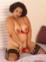 Chula Love the chubby latina in sexy red lingerie