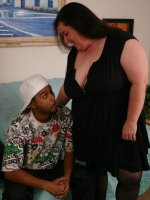 Horny BBW Sassy hooks up with a black guy and gets screwed in every imaginable positions