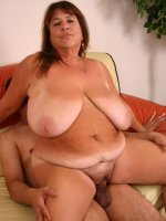 Hot BBW Mercy unleashes her bra busting knockers while giving off an awesome blowjob